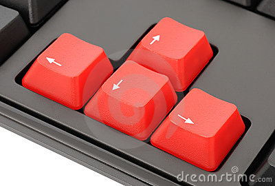 Red keys