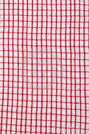 Red Kitchen Napkin