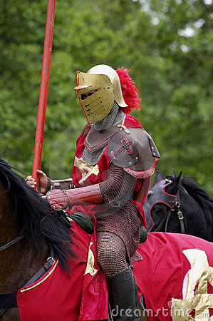 Free Red Knight Royalty Free Stock Photo - 250535