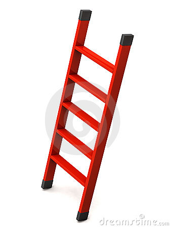 Red Ladder Royalty Free Stock Photos Image 15235308