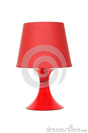 Free Red Lamp Royalty Free Stock Image - 67780006
