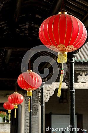 Free Red Lanterns Royalty Free Stock Image - 5423366
