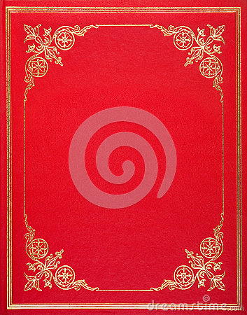 Free Red Leather Cover Royalty Free Stock Photography - 36418967