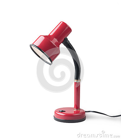 Free Red Leveling Table Lamp Stock Photo - 26280070