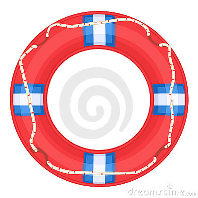 Red Life Buoy -
