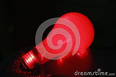 Red light blub 1