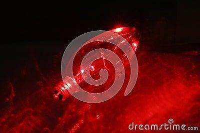 Red light blub 3
