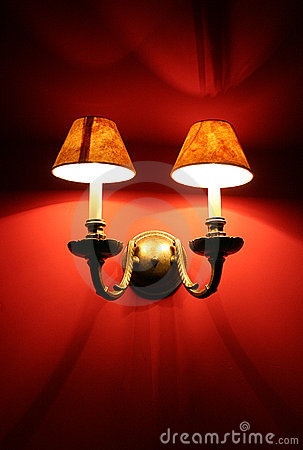 Red light lamps