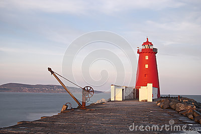 Red lighthouse