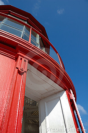Free Red Lighthouse Tower Top Stock Image - 13145831