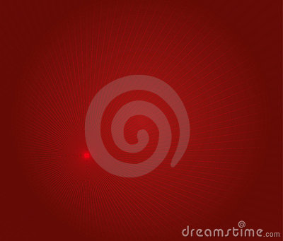 Red lighting abstract