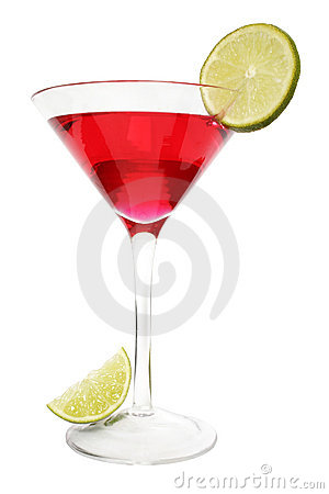 Free Red Lime Cocktail Royalty Free Stock Photo - 442375