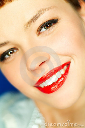 Free Red Lips Stock Photos - 725993