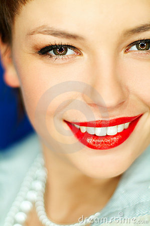 Free Red Lips Royalty Free Stock Images - 725999