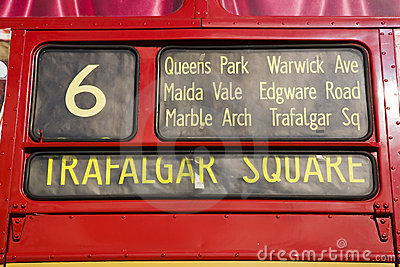Red London Bus,