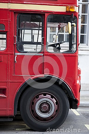 Red London Bus Cab
