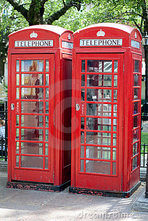 Red London Telephone Boxes