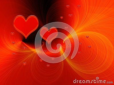 Red love fantasy