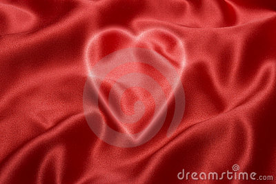 Red Love Heart Background