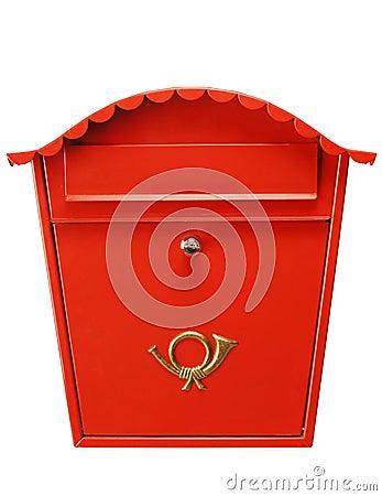 Red mailbox XL