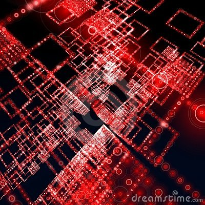 The gallery for --> Red Matrix Background