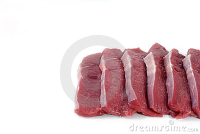 Red meat..