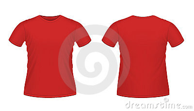 Red men s T-shirt