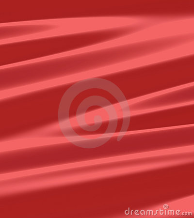 Red Metal Silk Fabric Cover
