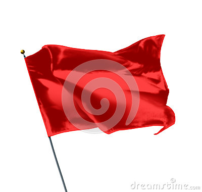 Free Red Mockup Flag Royalty Free Stock Photo - 98638115