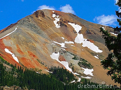 Red Mountain Ouray Colorado Stock Images - Image: 6343594