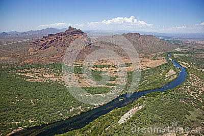 Red Mountain and Salt River