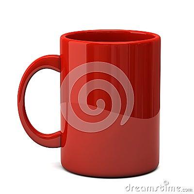 Free Red Mug Stock Image - 19264771