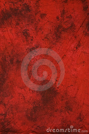 Red muslin photography backdrop