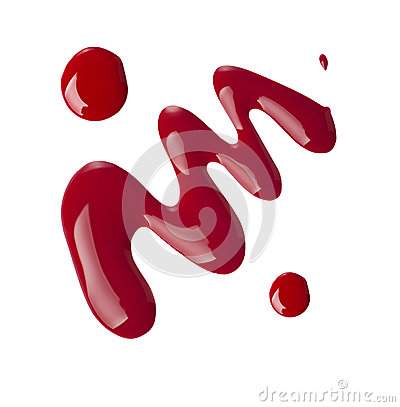 Free Red Nail Polish Stock Photo - 40121000