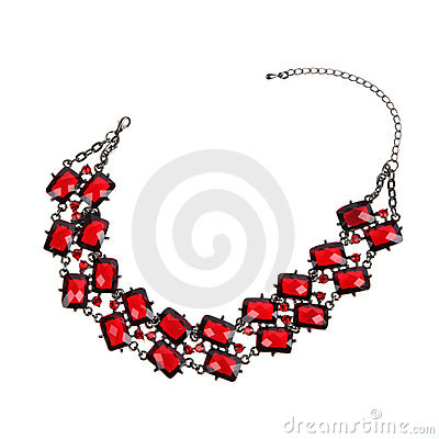 Free Red Necklace Stock Photo - 20950910
