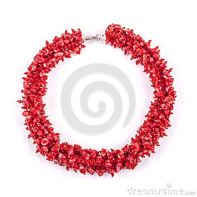 Free Red Necklace Royalty Free Stock Image - 30994866