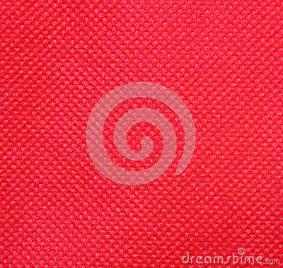 Red nonwoven fabric