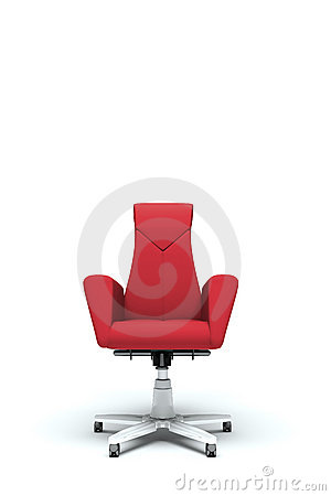 Free Red Office Armchair Royalty Free Stock Image - 19879326