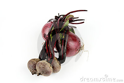 Red Onions and Beetroot