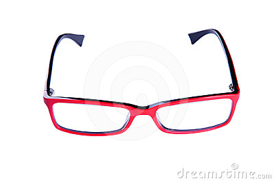 Red optical glasses