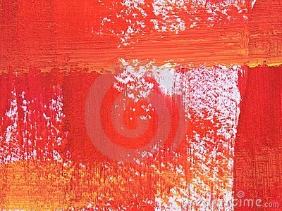 Red and orange brush stroke texture.