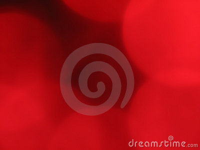 Red orb background blur 1
