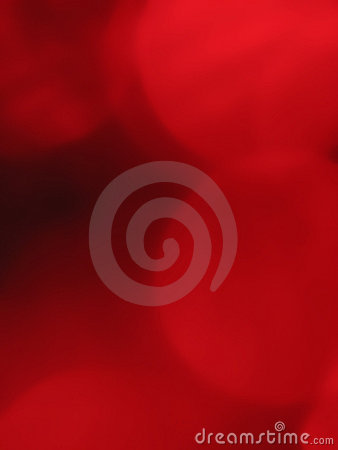 Red orb background blur 2