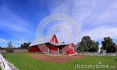 Red Oregon Barn