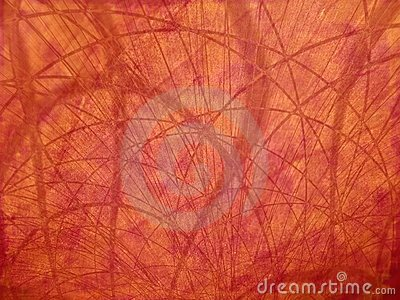 Red Organic Lines Texture