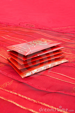 Free Red Packets Royalty Free Stock Photos - 15460068