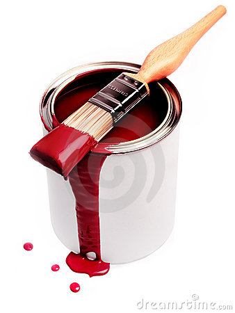 Free Red Paint Royalty Free Stock Photos - 11196468