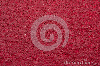 Red Painted Canvas