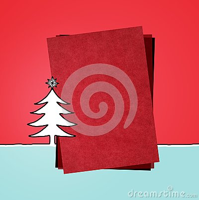 Red paper & Xmas