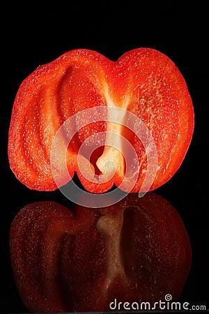Free Red Paprika Stock Image - 10156351